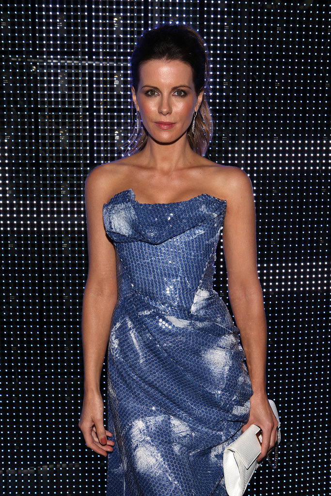 Kate went strapless at the Porsche Design 40th Anniversary Event in LA in 2014.