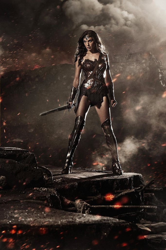 Snyder shared the first picture of Gal Gadot as Wonder Woman during Comic-Con. Source: Twitter user ZackSnyder