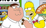 From EW: See the Simpsons-Family Guy Crossover