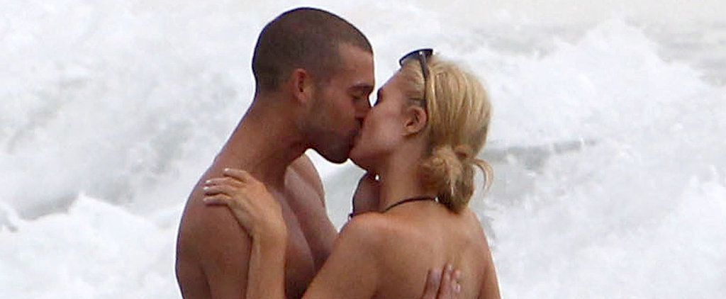 Paris Hilton Kisses a Guy Who Is Not River Viiperi in Malibu