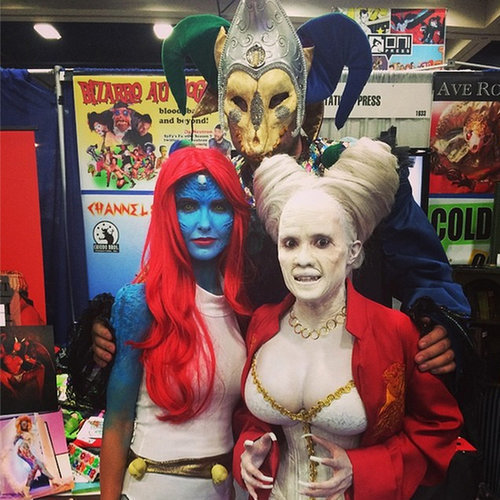 Celebrities Who Dressed Up For Comic-Con