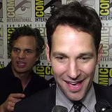 Mark Ruffalo Freaks Out Over Paul Rudd | Video