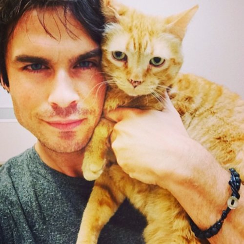 Ian Somerhalder's Selfies on Instagram
