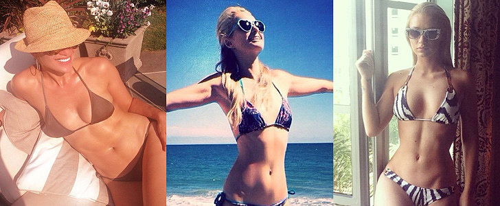 35 Stars Who Flaunt Their Bikini Bodies on Social Media