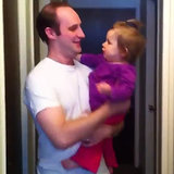 Baby Reacts to Dad Without Beard