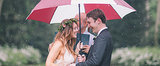Ashley and Dan's Rainy Boho Big Day