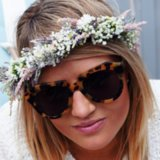 How to Wear a Flower Crown