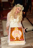 Christina Aguilera's a Mom Again - Did You See Her Baby Shower Cake!?