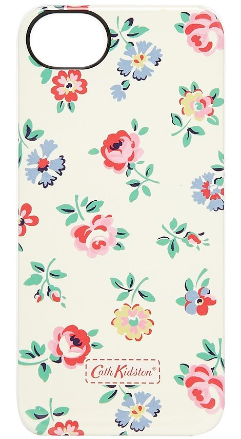 cath kidston linen sprig iphone 5 case popsugar tech. Black Bedroom Furniture Sets. Home Design Ideas