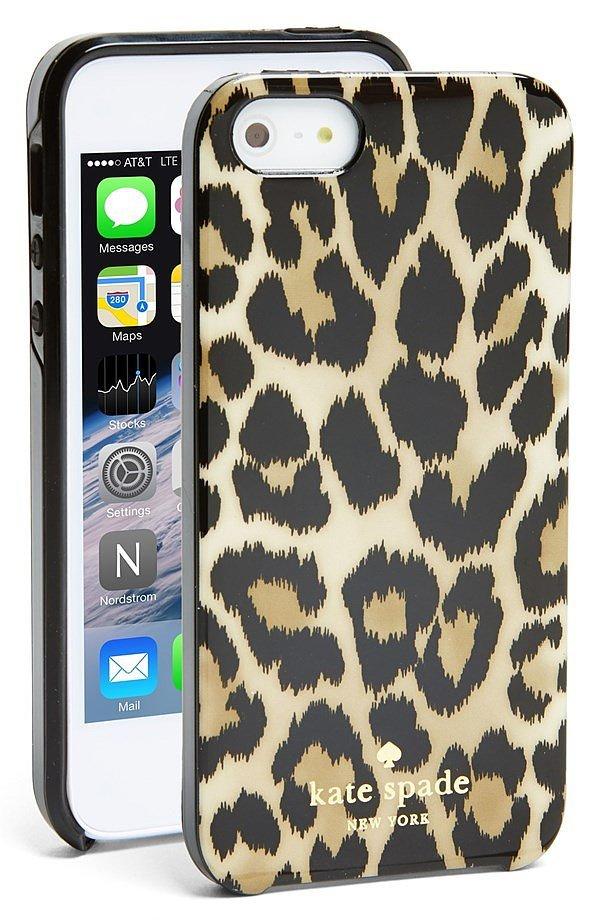 Kate Spade Leopard Ikat IPhone 5 Case POPSUGAR Tech