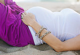 Weekly Inspiration: A Beachy Maternity Shoot