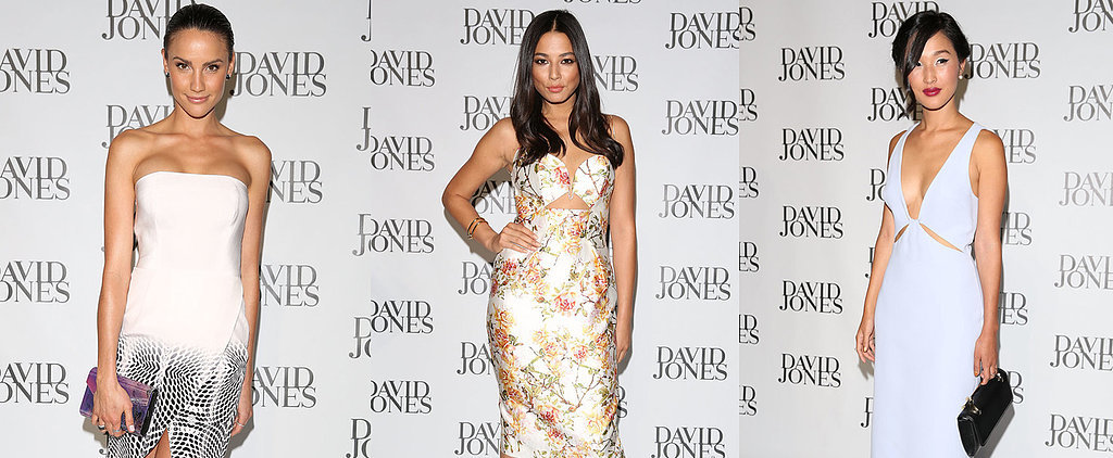 David Jones Fashion Launch: Front Row and Celebrity Style