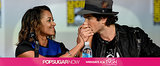 Today on POPSUGAR Now: The Vampire Diaries Stars Spill!