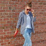 <i>Lucky</i>'s Five Favorite Looks of the Week: How To Wear Gingham