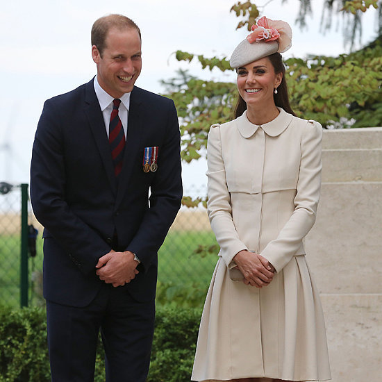 Kate Middleton and Prince William in Belgium For WWI Event