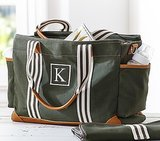 Pottery Barn Kids Army Green Classic Diaper Bag