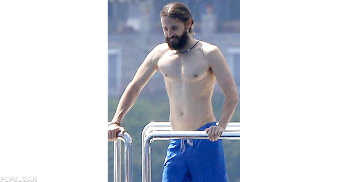 jared leto 2014 shirtless bracket gallery popsugar