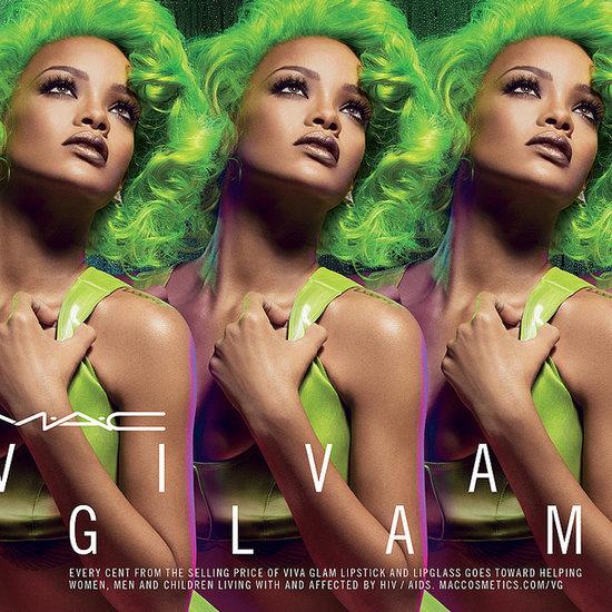 Rihanna Mac Cosmetics Viva Glam Lipstick Campaigns