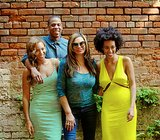 """Source: Tumblr user Beyoncé Knowles May 17: Beyoncé shared family snaps on her personal blog of herself, Jay Z, Solange, and her mother, Tina Knowles, looking smiley and happy. """"New Orleans, May 17th 2014,"""" she wrote in the caption, making it clear the fallout from Solange's physical attack was not coming between them. May 19: In anticipation of their first-ever joint tour, the couple released a star-studded video for their song """"Part II (On the Run)"""" via Beyoncé's blog. The short film features celebrity pals like Sean Penn, Blake Lively, Jake Gyllenhaal, and Rashida Jones and is one part movie trailer, one part music video. May 24: Beyoncé and Jay Z skipped Kim Kardashian and Kanye West's lavish wedding in Italy, instead taking a family vacation in the Hamptons. They were spotted out on several dates around NYC after the Memorial Day weekend."""