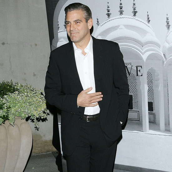 George Clooney Married in Giorgio Armani