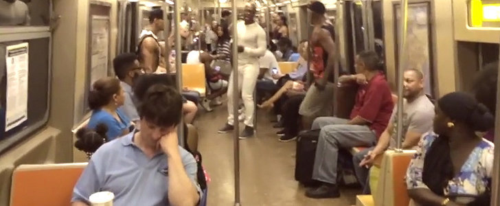 The Lion King Cast Surprised Subway Riders With an Awesome Serenade
