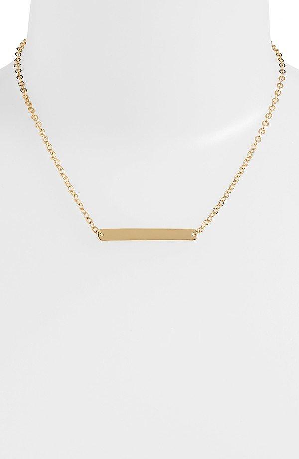 Nordstrom Bar Pendant Necklace