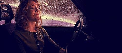 You hold back the tears until you reach the car, and the breakdown begins.