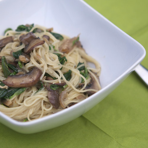 Angel Hair Pasta With Brie Sauce