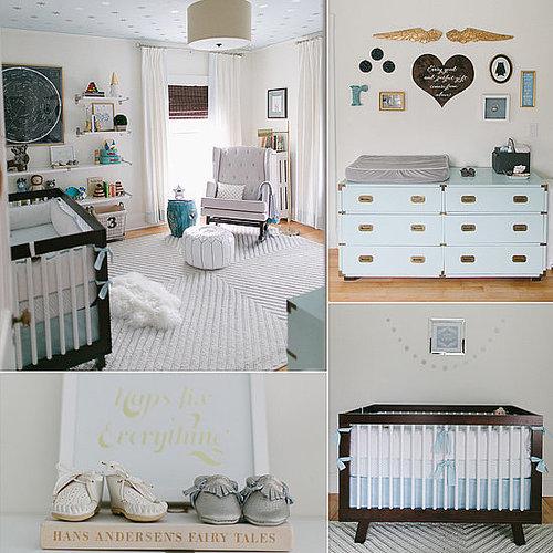 A Serene Nursery Full of Incredible DIY Details