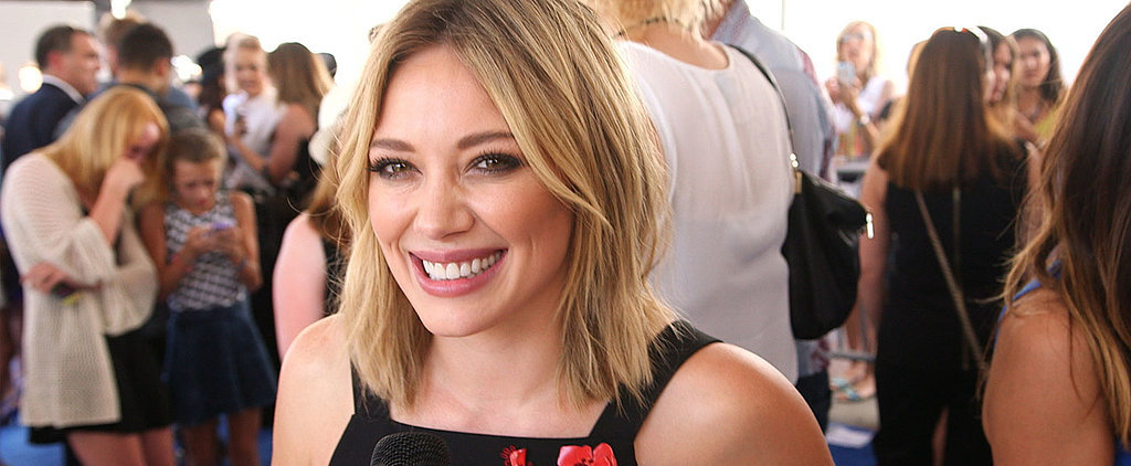"Hilary Duff on Why She's Already Releasing Another ""Catchy"" Single"