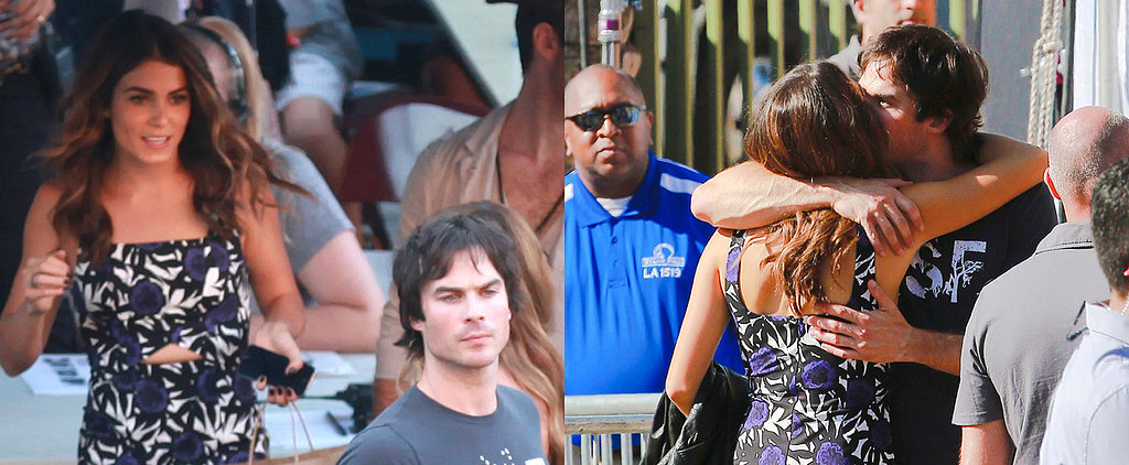 You May Have Missed Ian and Nikki's Serious PDA at the Teen Choice Awards