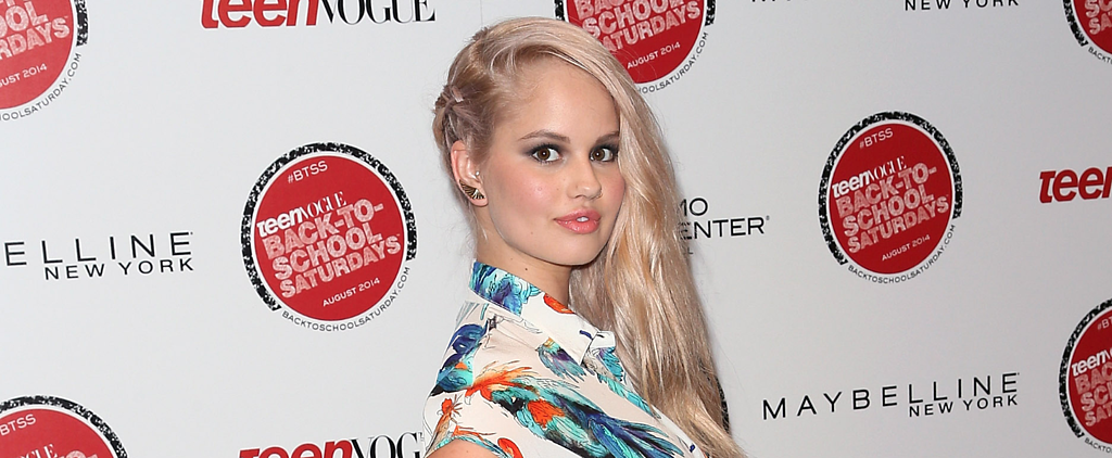 Debby Ryan's Sneaky Side Braid Is Your New Obsession