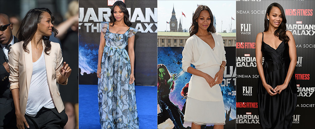 Zoe Saldana Is Having the Chicest Twin Pregnancy Ever