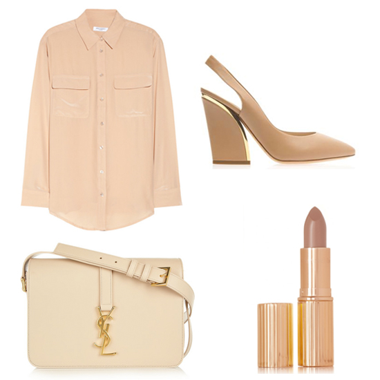 A Minimalist Palette  The Trend: Nude