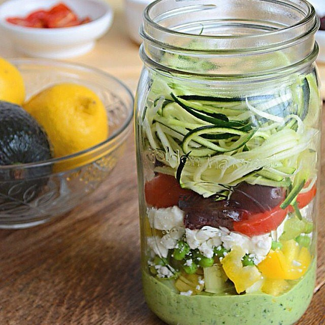 Salad in a Jar Recipes | POPSUGAR Fitness