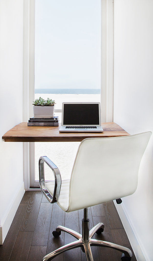 Small space decorating solutions popsugar home for Small space office solutions