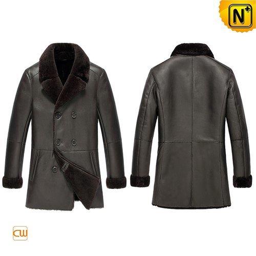 Leather Sheepskin Winter Coat CW851288