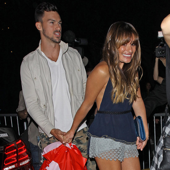 Celebrities at Justin Timberlake's LA Concert 2014