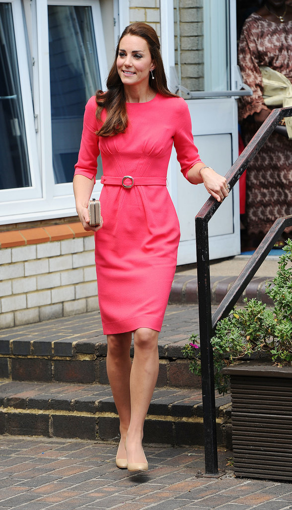 Kate Middleton at Blessed Sacrament School