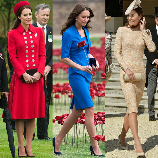 Kate Middleton Matching Outfits