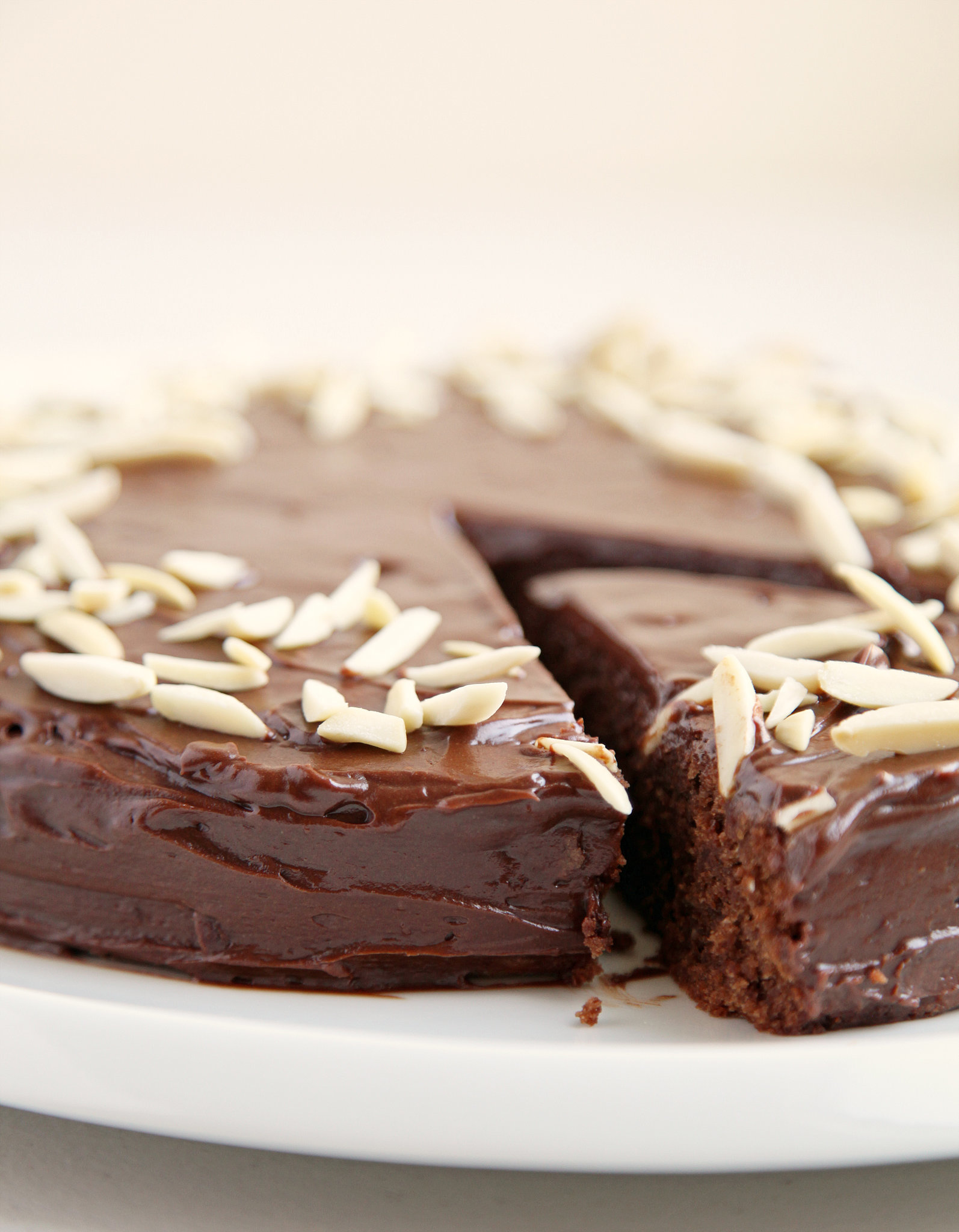 Reine De Saba (Chocolate And Almond Cake) With Chocolate-Butter Icing ...