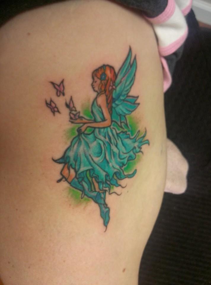 """""""I love my tattoo! My kids like it too. No regrets!"""" —Christy Marinak Bobroff"""