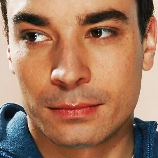 "Once upon a time, Jimmy Fallon was ""all about eyebrows, nose and lip gloss."" Source: Instagram user jimmyfallon"