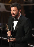 When He Won His Second Oscar