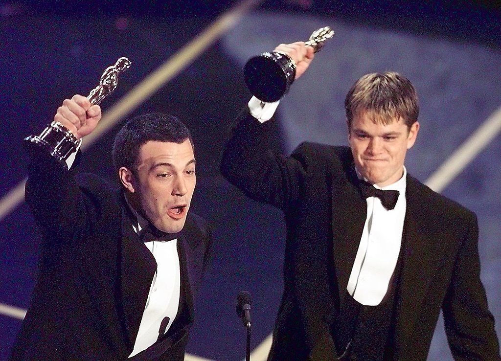When He Won His First Oscar