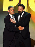 And This Sweet Moment With George Clooney