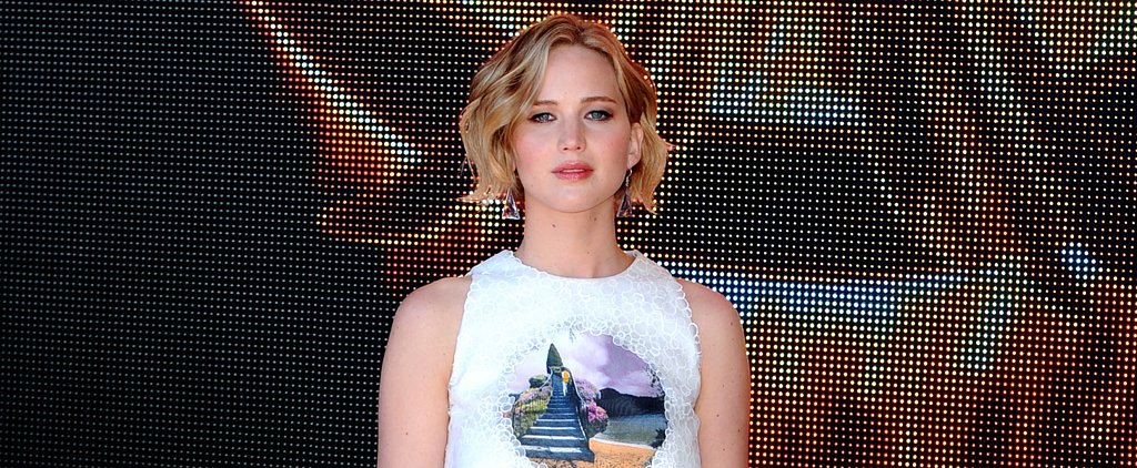 Jennifer Lawrence Is a Birthday Girl on Red Carpet Fire