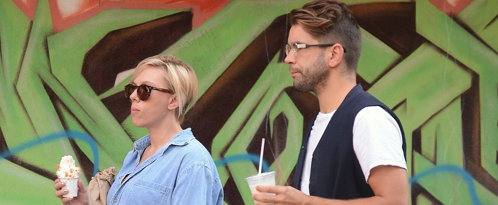 Scarlett Johansson Flaunts Her Growing Baby Bump on a Sweet Stroll