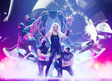 Britney Spears brought her A-game to her Piece of Me concert in Las Vegas on Friday.