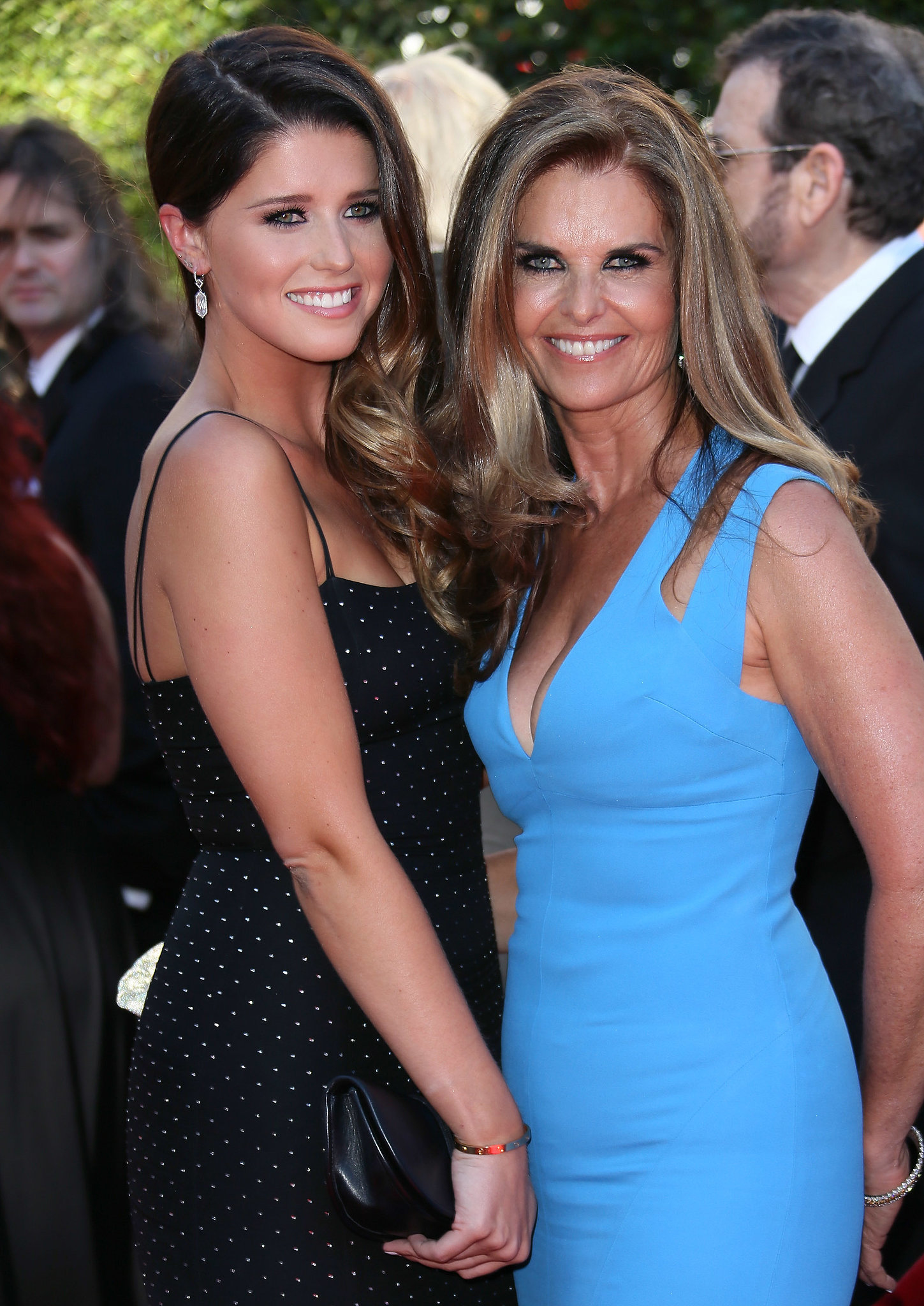 maria shriver had a special date her daughter katherine